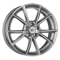1000 Miglia MM035 8x18 5x112 ET39 66,6 Matt Anthracite Polished Lip