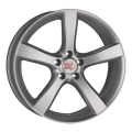 1000 Miglia MM1001 8x18 5x114,3 ET40 67,1 Matt Anthracite Polished Lip