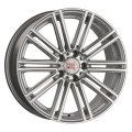 1000 Miglia MM1005 8x18 5x112 ET30 66,6 Matt Silver Polished