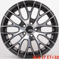 ADV1 3129 7x16 5x100 ET38 73,1 Black Polished