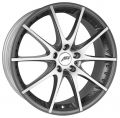 AEZ Tidore dark 7x17 5x114,3 ET40 71,6 Anthracite Matt Polished Lip