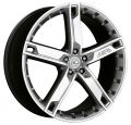 ANTERA 503 9x20 5x108 ET43 75 Silver Front Polished