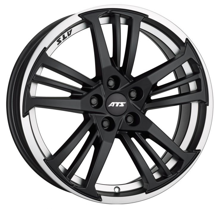 Легковой диск ATS Prazision 8,5x19 5x112 ET45 70,1 Racing Black Double lip polished