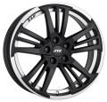 ATS Prazision 9x20 5x120 ET30 72,6 Racing Black Double lip polished