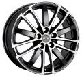 ATS X-Treme 8x18 5x120 ET35 72,6 Racing Black Front Polished